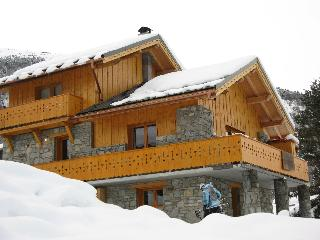 Chalet Lagopede, catered, Meribel, sleeps 8 - 10 - Meribel vacation rentals