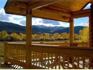Post Office Ranch log cabin B working cattle ranch - Salida vacation rentals
