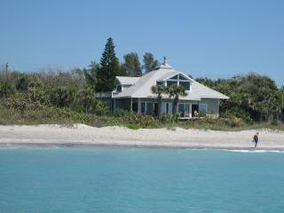 The Beach House from the water - BEACH HOUSE - Alton - rentals