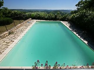 House and pool upon ramparts of medieval village - Cornillon vacation rentals