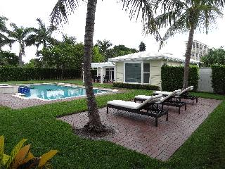 Beautifully Furnished Pool Home, 1 Block to Beach - Boca Raton vacation rentals