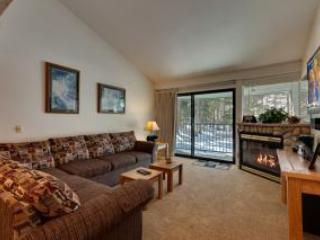 Liing room - Ski-in 2 Bedroom Condo at Chair 7 in Mammoth Lakes - Mammoth Lakes - rentals