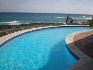 MAYA - SOLY4 Beautiful colonial modern villa with excellent ocean front caribbean view. - Akumal vacation rentals