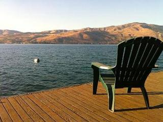 Lake Chelan Waterfront Cabin with private dock and buoy - Manson vacation rentals