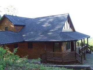 YOU WILL BE ASTOUNDED BY THE MOUNTAIN VIEW FROM LOOKOUT LODGE - North Georgia Mountains vacation rentals
