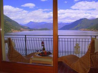 Stunning property with 180 deg  views of Lake Como - Argegno vacation rentals