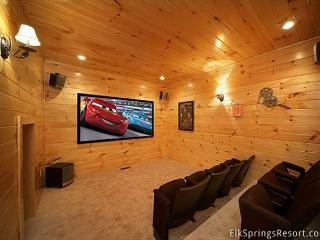 3 Bedroom Theater Room Cabin - close to Downtown - Gatlinburg vacation rentals