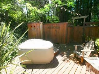 Stunning Cottage in the Forest! Hot Tub,Hammock, Outdoor Shower, Huge Deck! - Dillon Beach vacation rentals