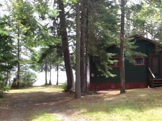 #134 Escape to this classic camp with private beach & dock - Maine Highlands vacation rentals