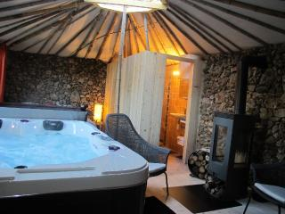 '5 elements' with yurt roof, jacuzzi and patio - Saint-Maximin-la-Sainte-Baume vacation rentals