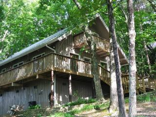 Windancer Lookout  - Breathtaking Mountain Views!!   2 Stone Fireplaces, Fire pit and Hot tub - Helen vacation rentals