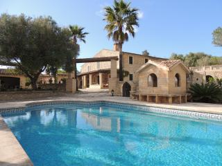 Villa with private pool and surrounding garden. - Son Macia vacation rentals