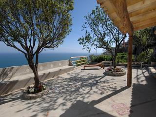 Saint Luke Terrace with Mediterranean sea view - Saint Luke, ancient house with soul - Praiano - rentals