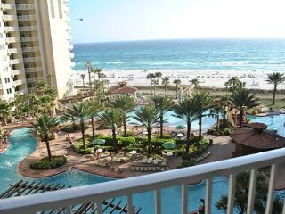 Shores of Panama 612 - Prime location! 1 Bedroom + Bunks! Gulf Front! - Panama City Beach vacation rentals