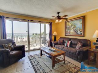 Long Beach 102-2. Beautiful 1 Bed, 1 Bath. Gulf Front! BOOK NOW! - Panama City Beach vacation rentals
