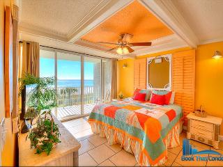 Long Beach 102-3. Gulf Front. Prime Location! Gorgeous 1 Bed, 1 Bath Condo. - Panama City Beach vacation rentals