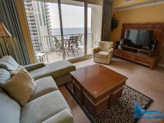Shores of Panama 807. Beautiful 2 Bed, 3 Bath Condo. Gulf Front. Sleeps 8! - Panama City Beach vacation rentals
