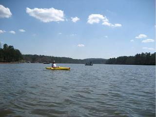 Lakehouse with 2 master BR's, hot tub, kayaks - Wedowee vacation rentals