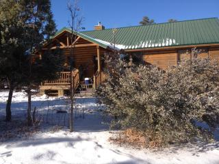 Bison Ridge Log Cabin, Backs to Forest - Show Low vacation rentals