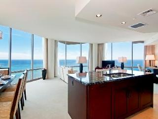 Trump King Penthouse- dazzling 37th floor ocean view with amenities, near beach - Honolulu vacation rentals