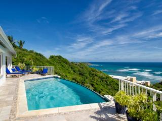 St. Martin Villa 195 Overlooks Beautiful Dawn Beach On The Island Of St. Maarten. - Terres Basses vacation rentals