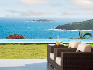 St. Martin Villa 198 The Spectacular Views, The Back-drop Of Sky, Sea And This Lovely Villa With White Accents Is Absolutely Stu - Terres Basses vacation rentals
