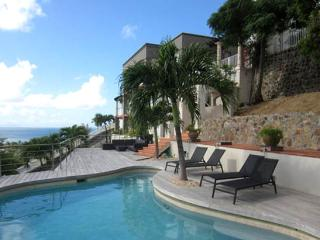 St. Martin Villa 200 Offers Amazing Oceanviews Of The Great Bay Harbor, Philipsburg And The Neighboring Caribbean Islands In The - Terres Basses vacation rentals