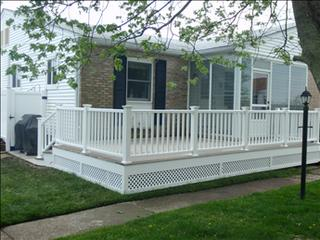 Cape May 2 Bedroom/1 Bathroom House (101600) - Cape May vacation rentals