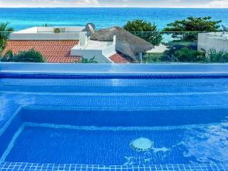 Casa Buena Suerte - Luxurious villa with 3 levels, pool, rooftop terrace & priceless views - Terres Basses vacation rentals