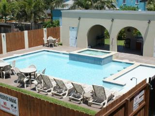 Large pool/spa and right across from the beach! - South Padre Island vacation rentals