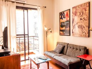One bedroom apartment São Paulo fully furnished - Sao Paulo vacation rentals