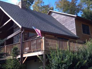 Eagles Rest 3BR,log cabin just below mtn top - Seven Devils vacation rentals