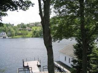 View from upstairs Deck - Waterfront Cottage on Lake Sunapee, NH - Sunapee - rentals
