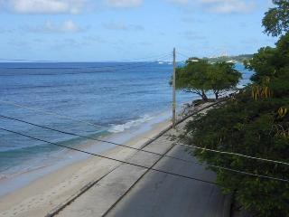 2 bed ocean front apartment stunning sea views! - Speightstown vacation rentals