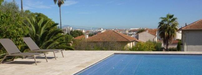 1914's Villa With Pool 10 min walk from beaches - Image 1 - Antibes - rentals