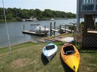 Bring your own kayaks and head over to Washburn Islan - Waterfront with Private Beach, Boat Dock and AC. - Falmouth - rentals