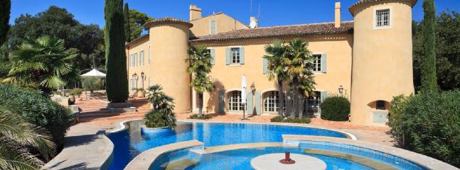Front of Chateau - 9 Bedroom Luxury Chateau in the Provence France - Provence - rentals