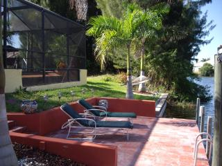 Pool and spa pet friendly gulf access Villa - Cape Coral vacation rentals
