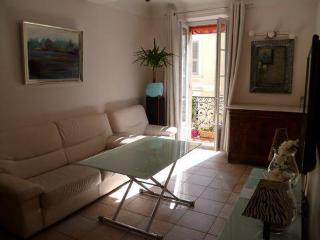 Cannes center, beach  2 bd apartment with balcony - Cannes vacation rentals