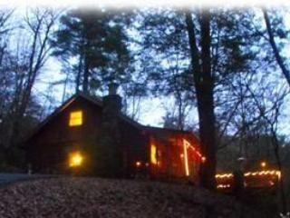 Mystic's Romantic Nights..Secluded, yet, Only 2 1/2 miles from Downtown Helen - August Special*Hot Tub*Wifi*Dogs Ok*Seclued* - Helen - rentals
