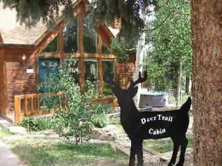 Deer Trail sleeps 6 w/hot tub & free WiFi - Woodland Park vacation rentals