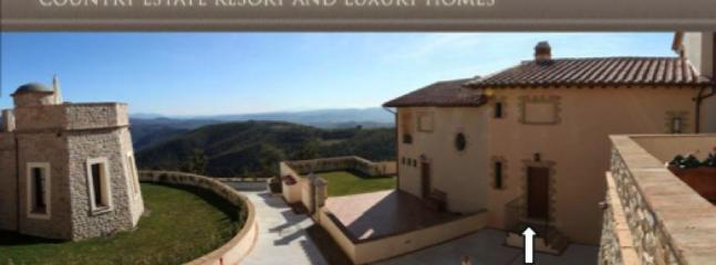 Entrance to Borgo and House - Elegant Townhouse Near Orvieto And Ficulle - Umbria - rentals