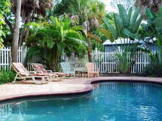 Tequila Sunset: 2BR/2BA Classic Elevated Island Home with Heated Pool - Anna Maria vacation rentals