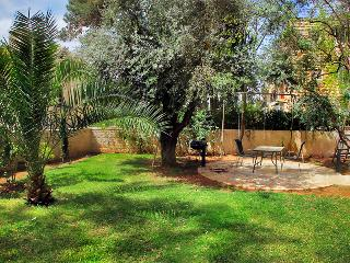 LUXURY SISTER APTS ~ 1 & 2 BDR ~ WITH LARGE GARDEN - Jerusalem vacation rentals