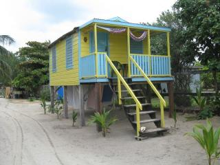 COLINDA CABANAS  # 6 - OCEAN VIEW STEPS TO THE SEA - Caye Caulker vacation rentals
