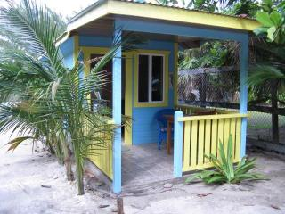 Cute Ocean View  Cabana with a/c - steps to beach. - Caye Caulker vacation rentals