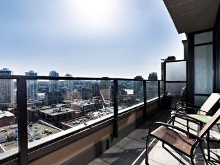 Corner 1 BR + Office -Views! -Rich 1906-Min 5 Days - Vancouver vacation rentals