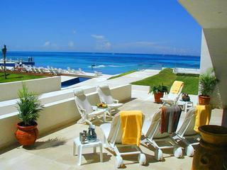 Our Terrace Is Spacious, And On The Ground Floor! - CASA MAYA PLAYA - Luxury And On The Ground Floor! - Cancun - rentals