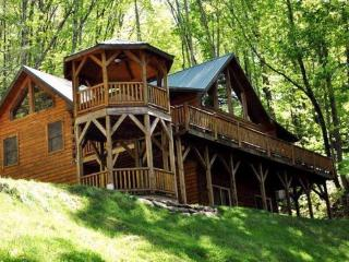 Impeccable Mountain Cabin Minutes from Cherokee - Bear Moon Lodge - Bryson City vacation rentals