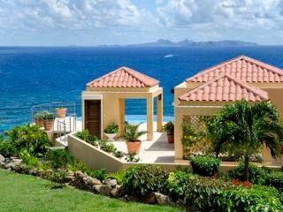 St. Martin Villa 220 The Villa Is Perched On The Hillside With Stunning Views Of The Ocean. - Terres Basses vacation rentals